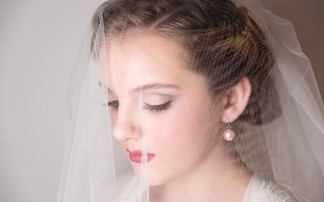 Sarafina Ardani Make-UpMakeup Artist Basingstoke Hampshire Bride Veil